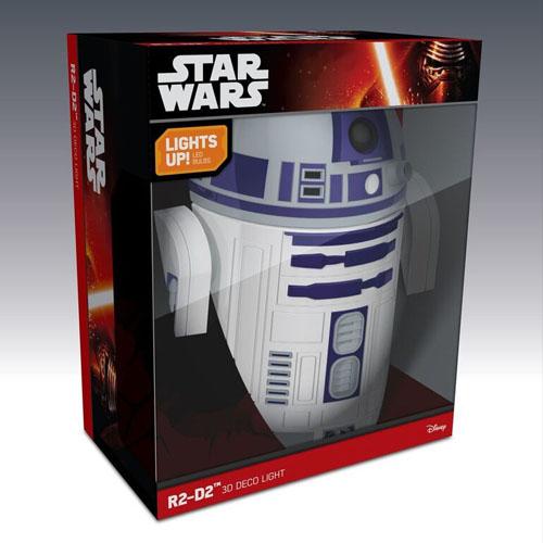 R2-D2 - Luminária 3D Light FX Star Wars 5