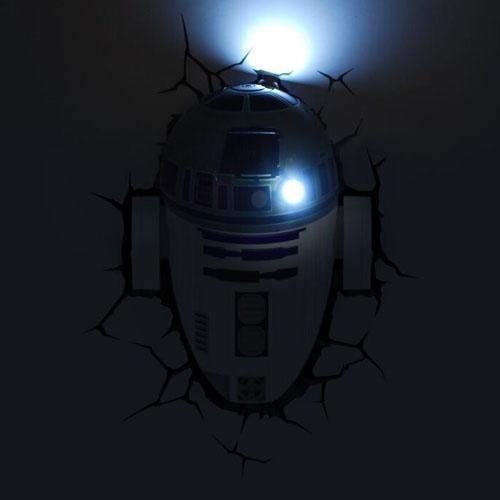 R2-D2 - Luminária 3D Light FX Star Wars 2