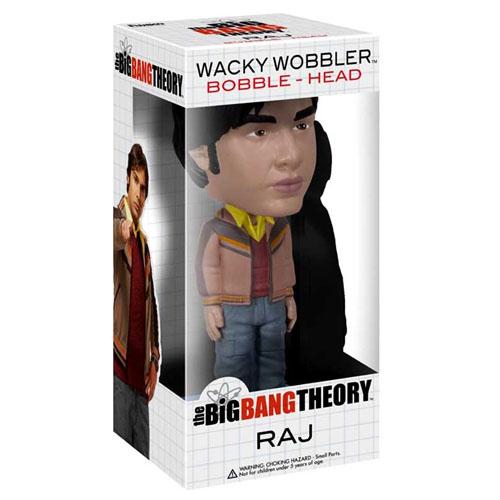 Raj - The Big Bang Theory Bobblehead - Funko Wacky Wobbler 3