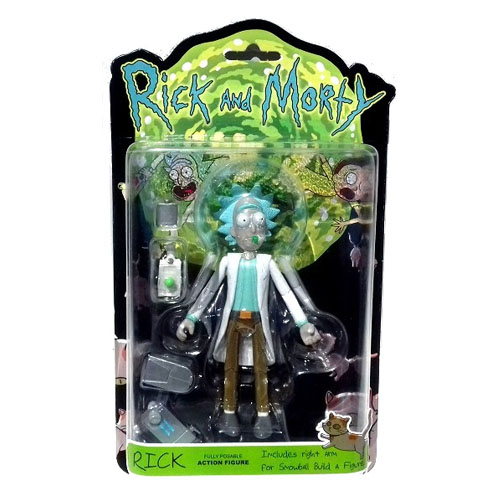 Rick - Action Figure Rick and Morty 4