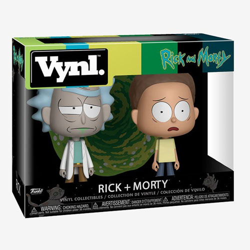 Rick e Morty - Conjunto Vynl Rick and Morty 3