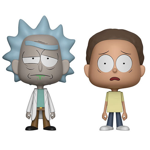 Rick e Morty - Conjunto Vynl Rick and Morty