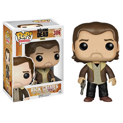 Rick Grimes (Com Casaco) - Funko Pop The Walking Dead