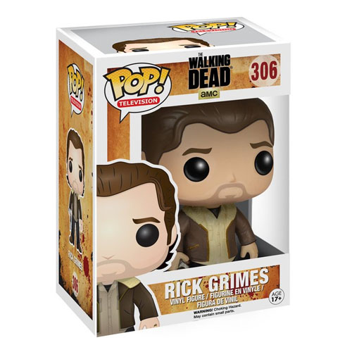 Rick Grimes (Com Casaco) - Funko Pop The Walking Dead 3
