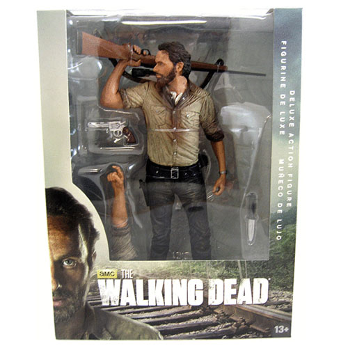 Rick Grimes - Deluxe Action Figure The Walking Dead 3