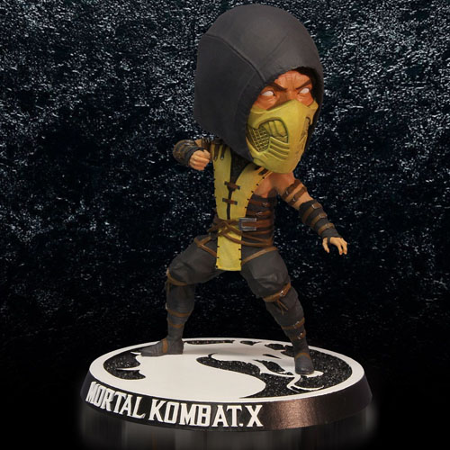 Scorpion - Bobble Head Mortal Kombat X - Mezco 4