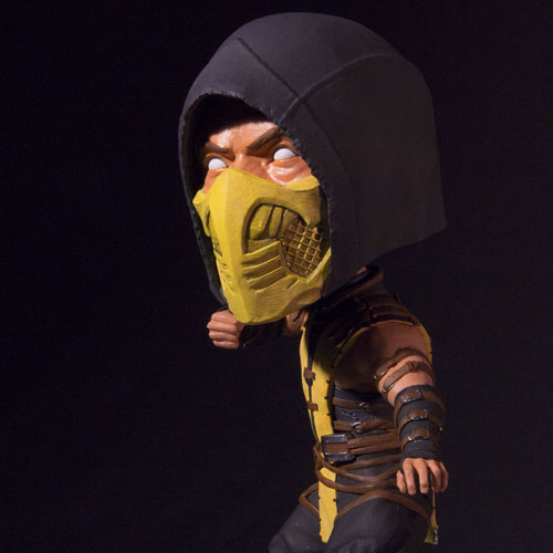 Scorpion - Bobble Head Mortal Kombat X - Mezco 3