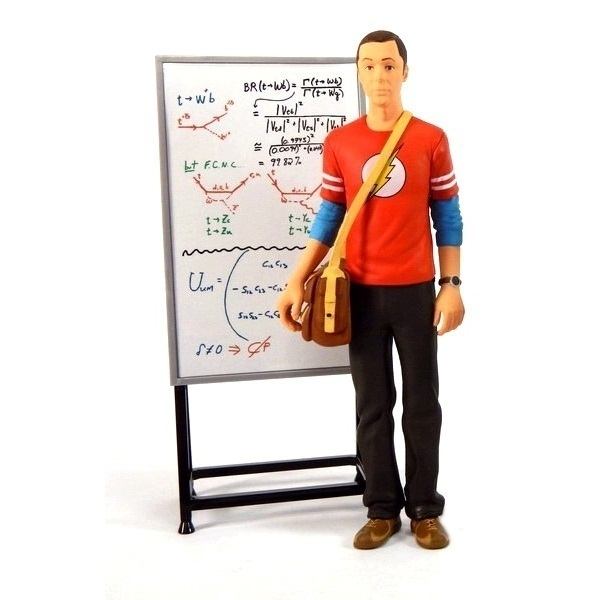 Sheldon - The Big Bang Theory - Action Figure