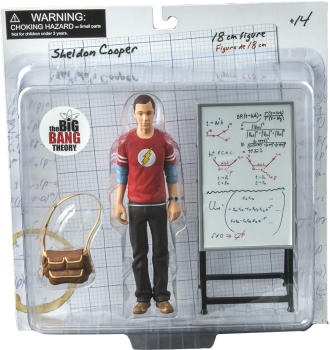 Sheldon - The Big Bang Theory - Action Figure 2