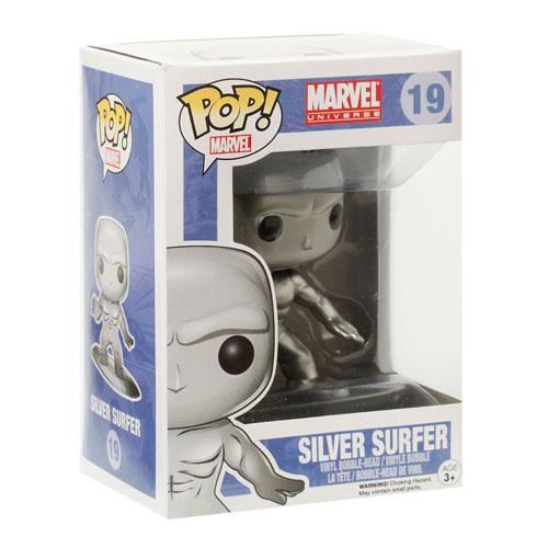 Silver Surfer / Surfista Prateado - Funko Pop Marvel Universe 3