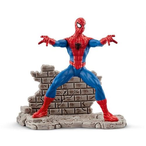 Spider-Man / Homem-Aranha - Estatueta Marvel - Schleich
