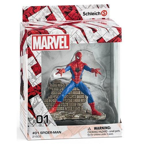 Spider-Man / Homem-Aranha - Estatueta Marvel - Schleich 2