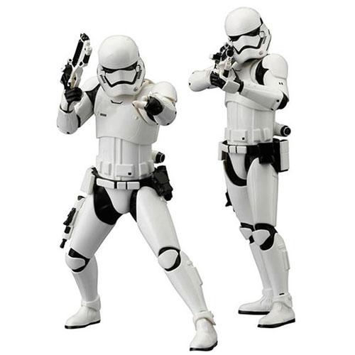 Stormtrooper First Order 2-Pack Star Wars - Estátuas ArtFX+ Kotobukiya The Force Awakens 2