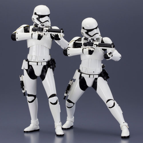 Stormtrooper First Order 2-Pack Star Wars - Estátuas ArtFX+ Kotobukiya The Force Awakens 5