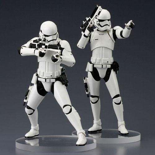 Stormtrooper First Order 2-Pack Star Wars - Estátuas ArtFX+ Kotobukiya The Force Awakens 3