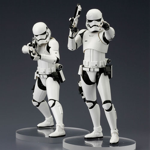 Stormtrooper First Order 2-Pack Star Wars - Estátuas ArtFX+ Kotobukiya The Force Awakens 4