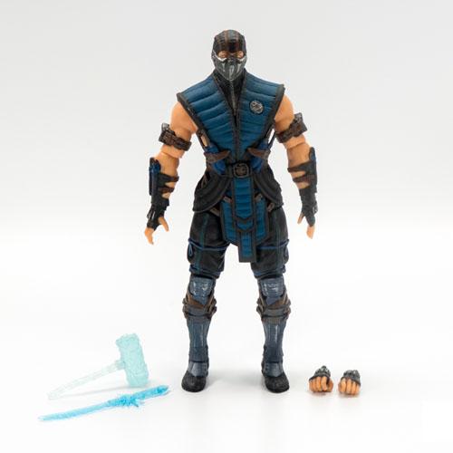 Sub-Zero - Action Figure Mortal Kombat X - Mezco 3