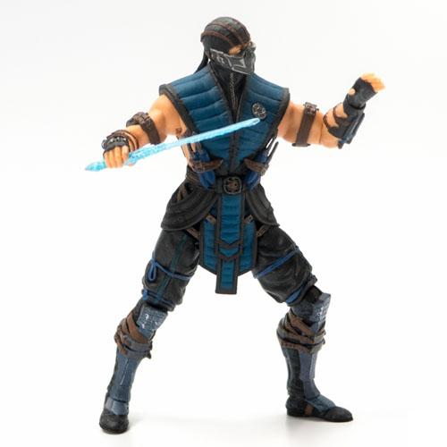 Sub-Zero - Action Figure Mortal Kombat X - Mezco 2