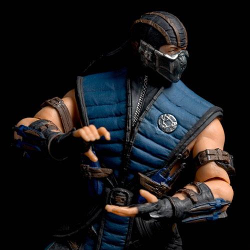Sub-Zero - Action Figure Mortal Kombat X - Mezco 4