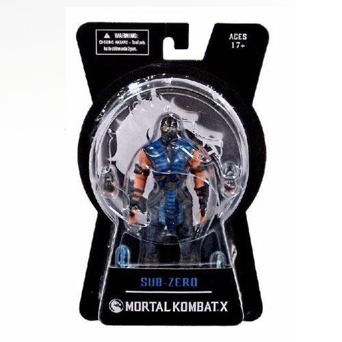 Sub-Zero - Action Figure Mortal Kombat X - Mezco 5