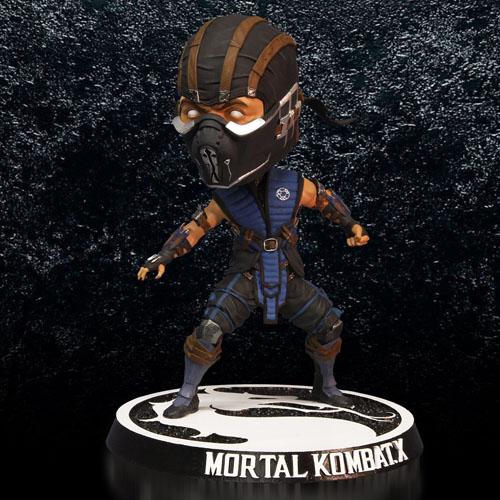 Sub-Zero - Bobble Head Mortal Kombat X - Mezco 4