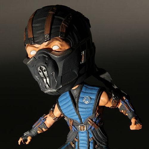 Sub-Zero - Bobble Head Mortal Kombat X - Mezco 2