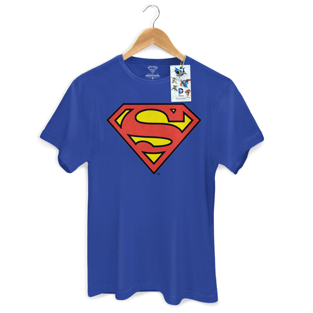 Camiseta Superman / Super-Homem Logo - Masculina - DC Comics