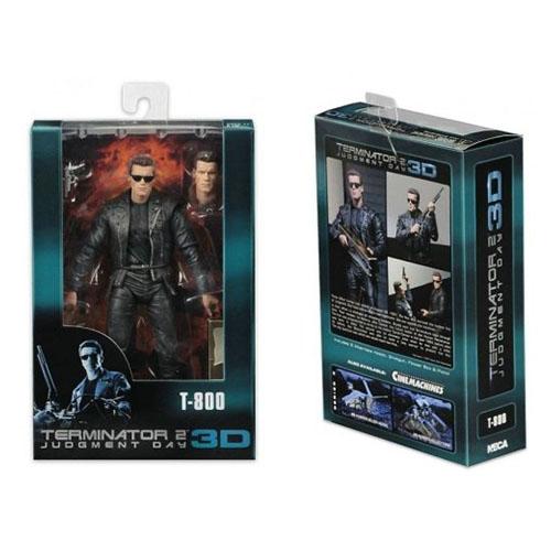 Terminator T-800 - Action Figure Terminator 2 3D / Exterminador do Futuro - NECA 3