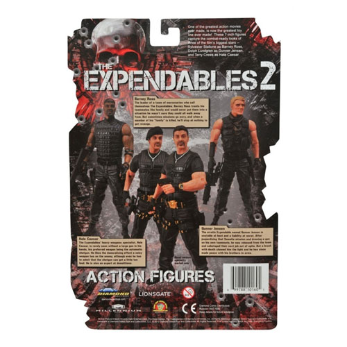Gunner Jensen - Action Figure Expendables / Mercenários 2 3