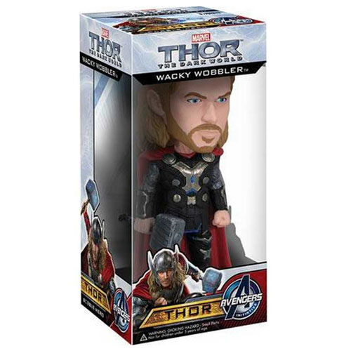 Thor - Avengers Bobblehead - Funko Wacky Wobbler Thor: The Dark World 3