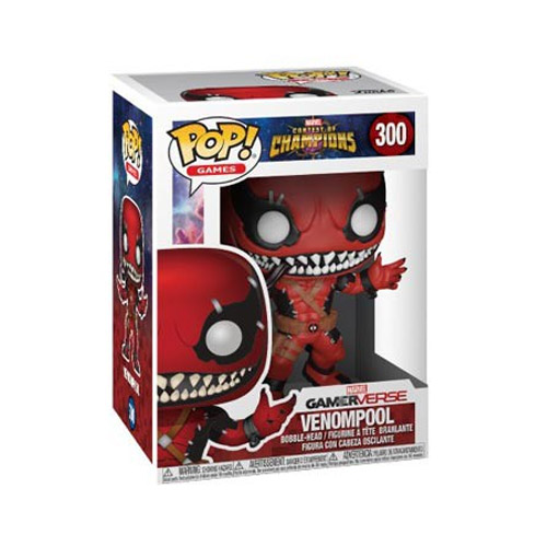 Venompool Venom Deadpool - Funko Pop Marvel Contest of Champions 3