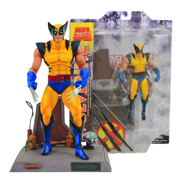 Wolverine - Action Figure Marvel Select - X-Men 2