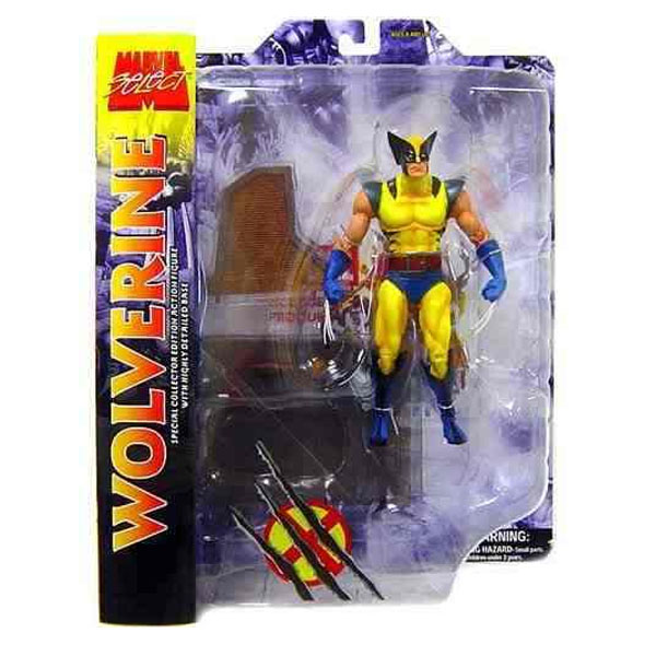 Wolverine - Action Figure Marvel Select - X-Men 3
