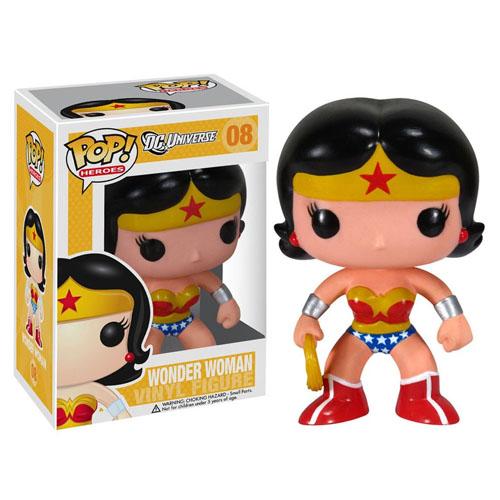 Wonder Woman / Mulher-Maravilha - Funko Pop DC Comics Super Heroes