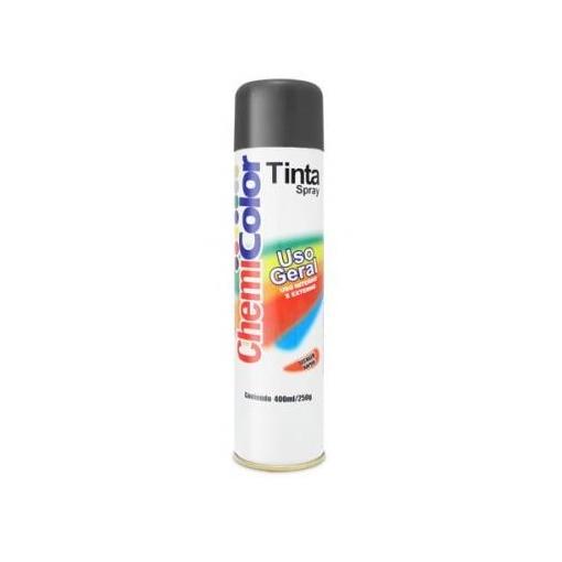 TINTA SPRAY PRETO BRILHANTE 400 ML - RC2101