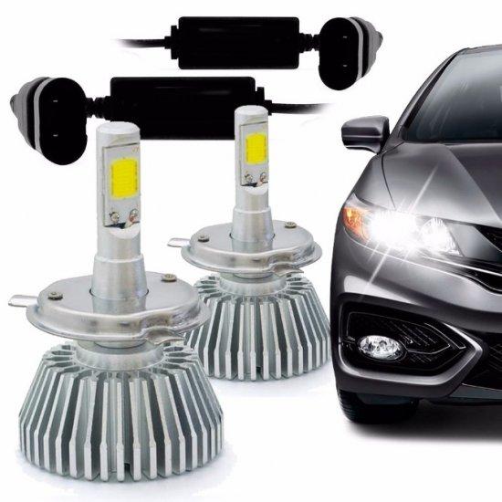 LAMPADA SUPER LED H4 6200K - AU825
