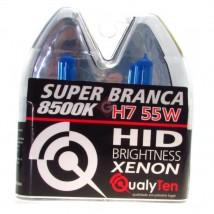 Imagem - PAR DE LÂMPADAS H7 55 WATS SUPER BRANCA - QH7 - 23877