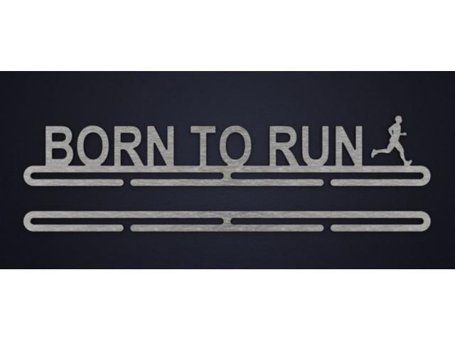 Porta Medalhas Win 1001 Born to Run