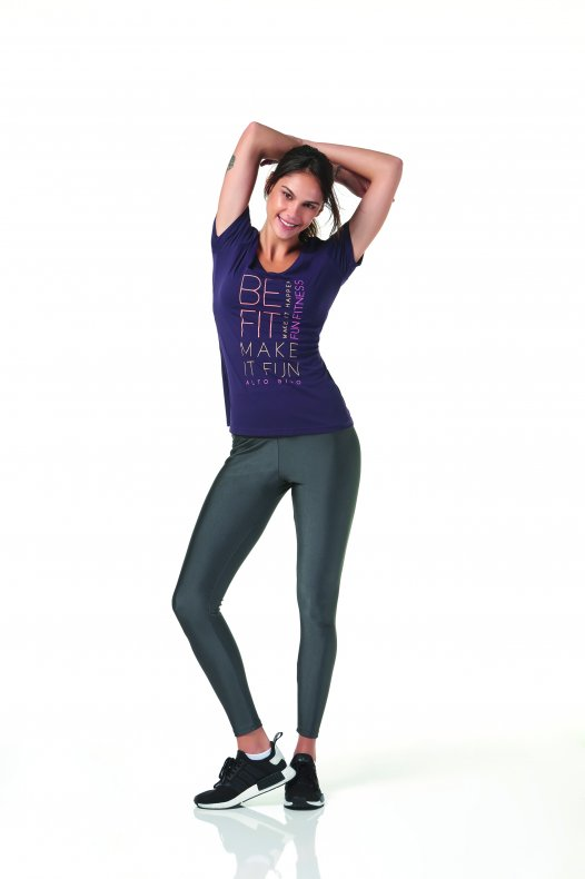 Camiseta Alto Giro SKIN FIT MAKE IT FUN
