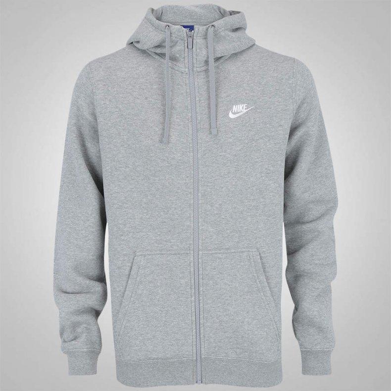 Jaqueta Nike Hoodie FZ FLC Club Masculina