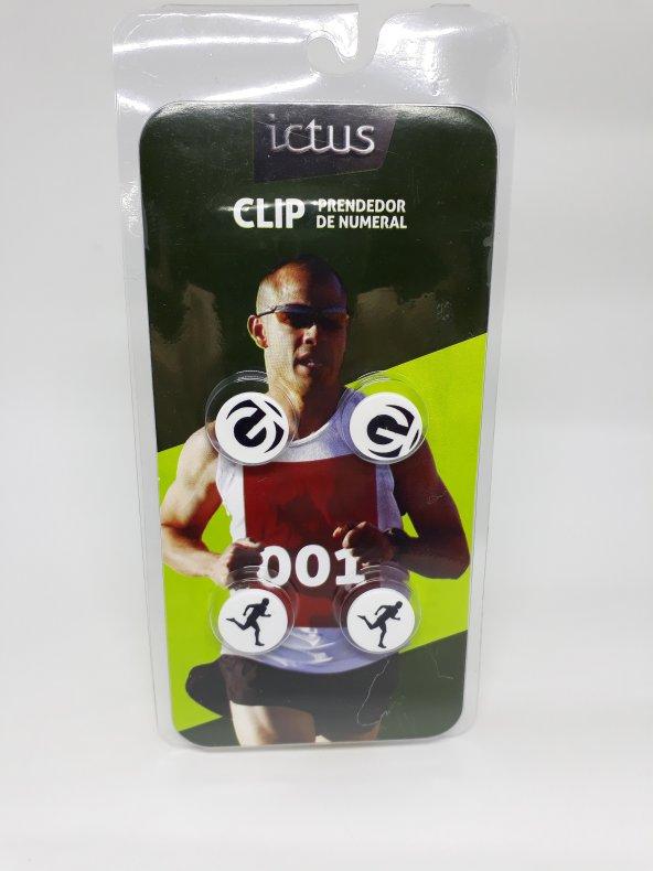 Porta número ICTUS clip