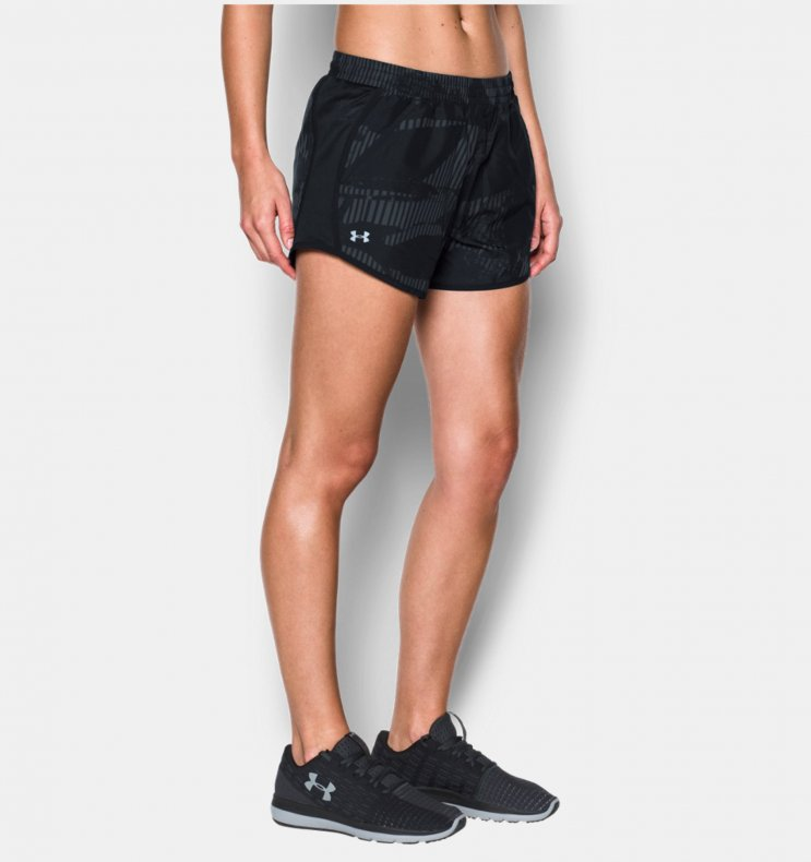 Short Under Armour Printed Fly-By