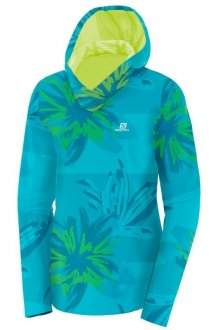 Blusa Salomon Runner Graphic Hoodie