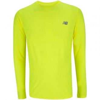 Imagem - Camiseta M/l New Balance Accelerate Bco (Masc) - 20BMT03205BIO64