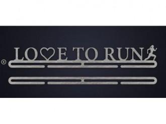 Imagem - Porta Medalhas Win 6002 Love to Run - 200000246002440