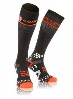 Imagem - Meia de Compressão Compressport Full Socks - preta - 20000230