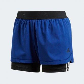 Imagem - Short Adidas dois em um três listras - 180