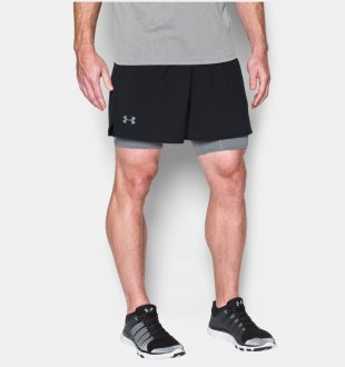 Imagem - Short Under Armour Qualifier 2-in-1 - 2.5149