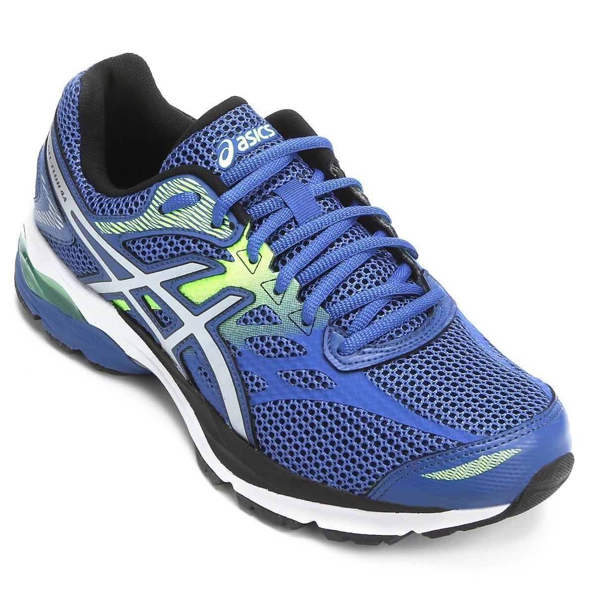 15988d357f6 Tênis Asics FLUX 4 T024AFLUX4 Asics - Azul - Girardi Running Store