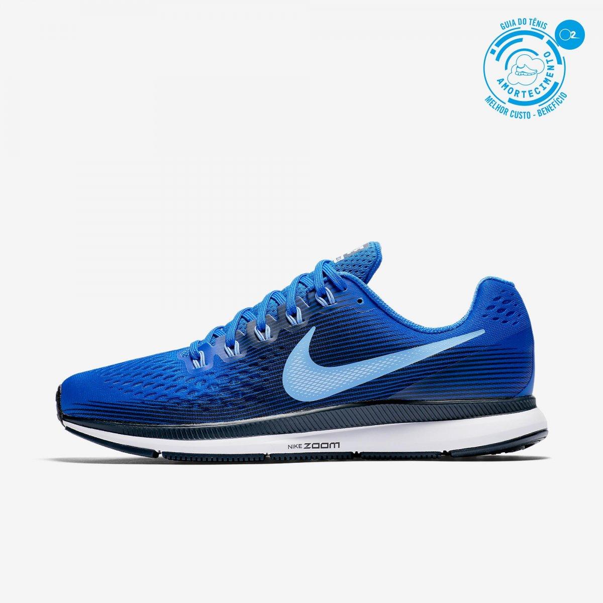 c02011955b2f3 Tênis Nike Pegasus 34 880555PEGASUS Nike - Azul - Girardi Running Store
